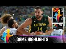 Nowa Zelandia 71:76 Litwa