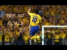 Zlatan Ibrahimovic - Top 50 bramek