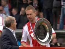 Ajax Amsterdam świętuje mistrzostwo Holandii