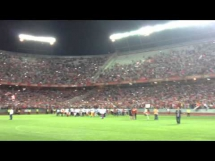 Sevilla świętuje zdobycie Ligi Europy - hymn w wykonaniu kibiców