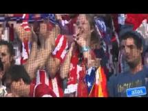 Kibice Barcelony pogratulowali Atletico