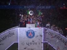 Radość PSG po zdobyciu mistrzostwa Francji
