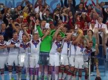Radość Niemców po zdobyciu mistrzostwa