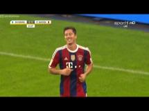 Pierwszy gol Lewandowskiego w Bayernie!