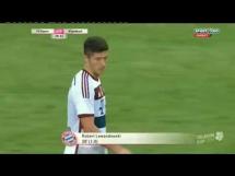 Fenomenalny gol Lewandowskiego w meczu z Gladbach