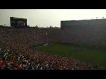 Doping kibiców Manchesteru United przed meczem z Realem Madryt