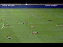 Piłkarze położyli się na boisku... bo nie dostali wypłaty!