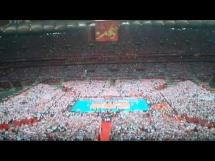 Hymn Polski na meczu otwarcia Siatkarskich MŚ