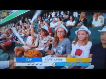 Wspaniały rzut karny w meczu Gwiazd TVP i TVN
