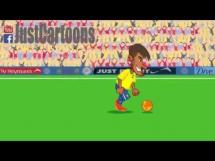 Parodia symulki Neymara z meczu przeciwko Kolumbii