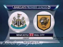 Newcastle United 2:2 Hull City