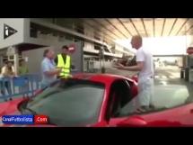 Kłótnia kibica Barcy z Mathieu