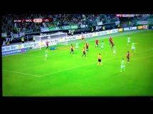 Bomba De Bruyne w meczu Wolfsburg - Lille