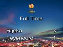 HNK Rijeka 3:1 Feyenoord