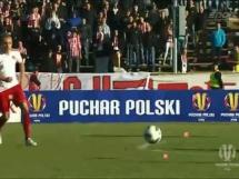 Ostrovia Ostrów Wielkopolski - Cracovia Kraków 1:1 (1:2 dogr.)