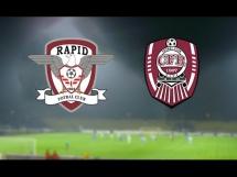 Rapid Bukareszt - CFR Cluj 1:2