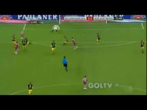 Gol Lewandowskiego w meczu przeciwko Borussii Dortmund