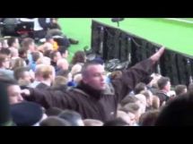 Kibic Man City obraża kibiców Man United