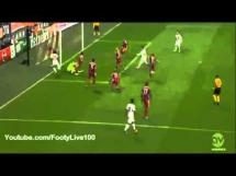 Wspaniała podwójna parada Neuera w meczu z Romą