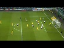 Przepiękny gol Kobina w meczu Legii z Metalistem