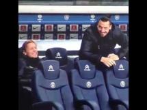Ibrahimović żartuje z lekarza PSG