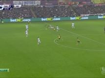 Swansea City - Arsenal Londyn 2:1