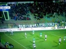 Piłkarz GKSu Belchatów zwyzywał Guilherme
