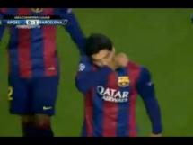 Pierwszy gol Suareza w Barcelonie