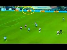 Duch na meczu piłkarskim w Argentynie