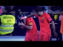 Messi uderzony butelką podczas meczu z Valencią