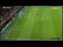 Przepiękny gol Ramsey'a w meczu z Galatasaray