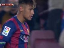 Przepiękny gol Neymara w meczu z Elche