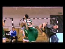Brutalne zachowanie kibica na meczu koszykówki
