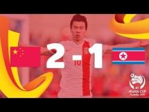 Chiny 2:1 Korea Północna
