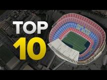 TOP10 największych stadionów piłkarskich w Europie
