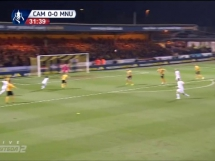 Cambridge United 0:0 Manchester United