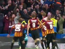Chelsea Londyn 2:4 Bradford City