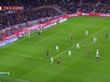 FC Barcelona 1:0 Atletico Madryt
