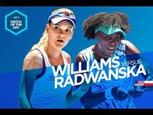 Agnieszka Radwańska 1:2 Venus Williams