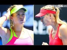 Maria Sharapova - Eugenie Bouchard 2:0