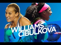 Serena Williams 2:0 Dominika Cibulkova