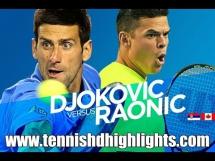 Novak Djoković 3:0 Milos Raonic