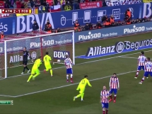 Atletico Madryt 2:3 FC Barcelona