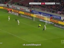VfB Stuttgart 0:1 Borussia Monchengladbach