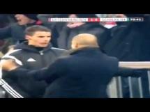 Guardiola wyściskał sędziego po zdobyciu gola