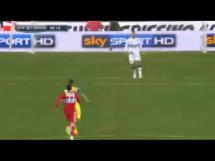 Błąd Pawła Wszołka w meczu Sampdorii z Chievo