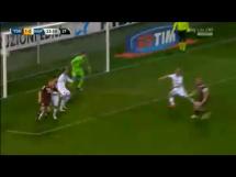 Bramka Glika w meczu z Napoli