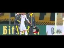 Kontuzja Marco Reusa podczas meczu z Dynamem Drezno