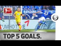 Top 5 bramek 24. kolejki Bundesligi