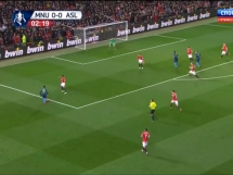Manchester United 1:2 Arsenal Londyn